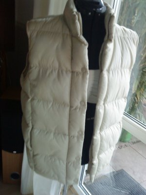 Colours of the World Quilted Gilet oatmeal polyester