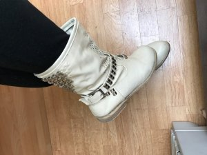 Beige Stiefel, Größe 38