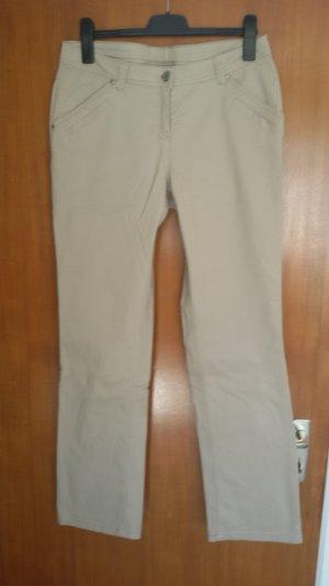 Blue Motion Pantalón elástico beige Algodón
