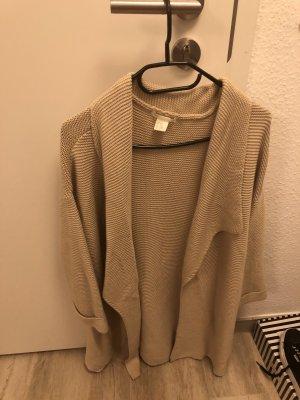 H&M Cardigan all'uncinetto beige