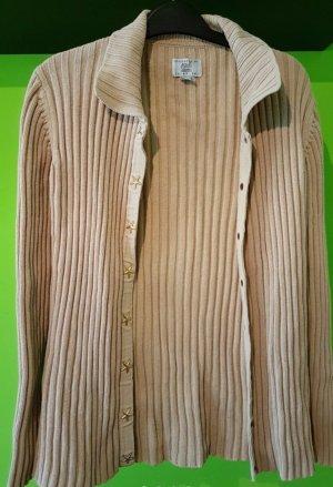 Alba Moda Giacca in maglia beige