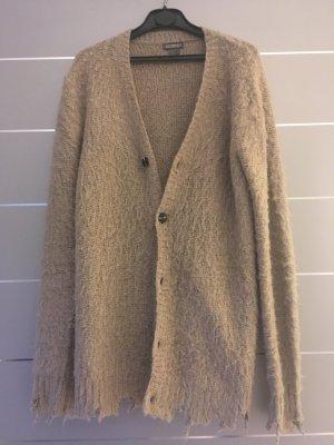 Beige Strickjacke H&M  Used-Look Gr. XS