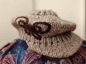 Esprit Knitted Hat brown-oatmeal