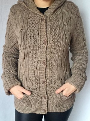 Marc O'Polo Coarse Knitted Jacket camel