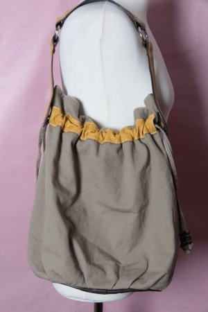 Beige Tasche mit gelben Details von H&M