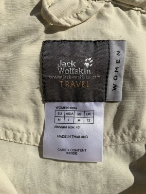 Jack Wolfskin Veste d'extérieur beige clair