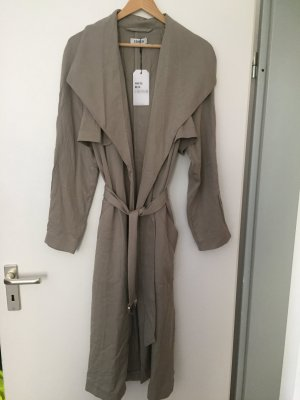 Beige Trenchcoat EDITED oversized lang Neu