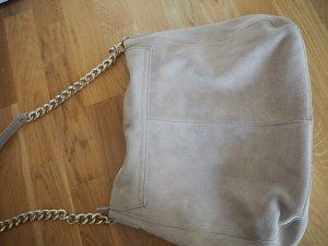Beige Wildledertasche von H&M