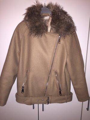 H&M Oversized Jacket beige-brown