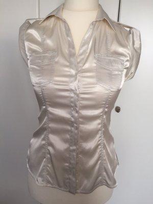 Beigefarbene Bluse von Zara