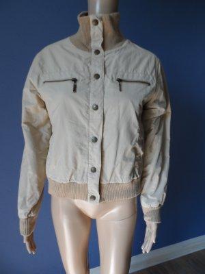 Bomber Jacket sand brown polyester