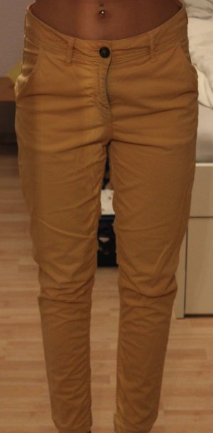 beigefarbene Chino-Hose von H&M