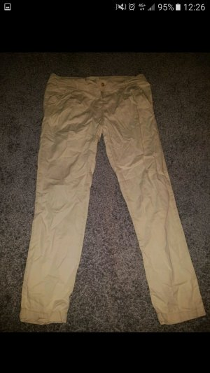 Pantalon chinos beige clair