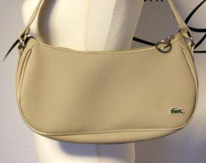Beigefarbene Handtasche von Lacoste