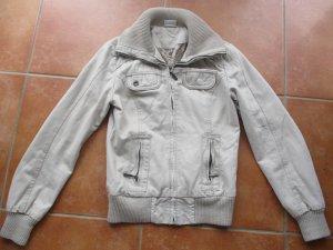 Takko Between-Seasons Jacket beige cotton