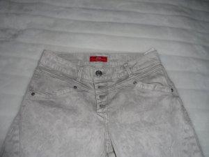 Beigefarbene Jeans
