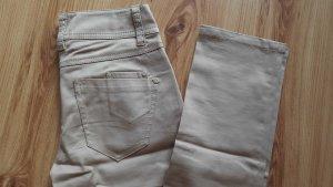 beigefarbene Jeans von Hallhuber