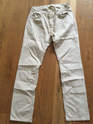 Beigefarbene Jeans von ZARA