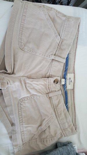 beigefarbene Shorts von Hollister