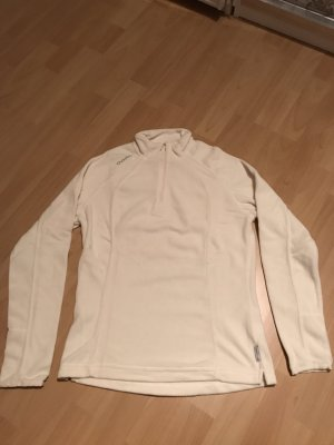 Quechua Pullover in pile bianco sporco