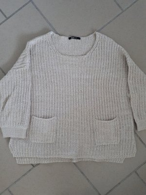 ginatricot Knitted Sweater oatmeal