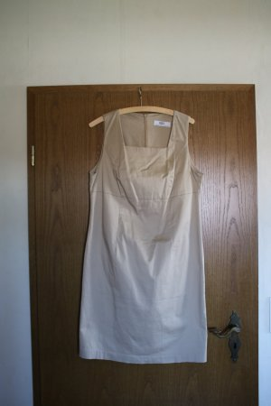 b.p.c. Bonprix Collection Vestido ceñido de tubo beige