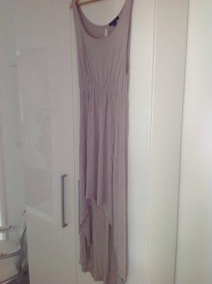 Beigefarbenes vokuhila Kleid