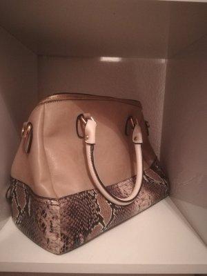 beigene Handtasche