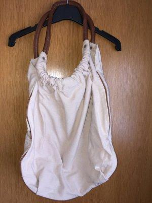 Canvas Bag sand brown-brown cotton