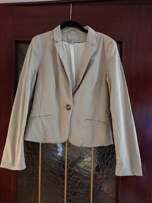 H&M Sweat Blazer oatmeal-beige