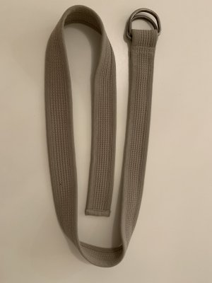 Cinturón de tela beige claro