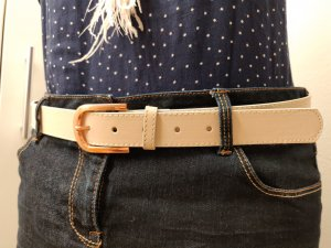 Faux Leather Belt rose-gold-coloured-oatmeal