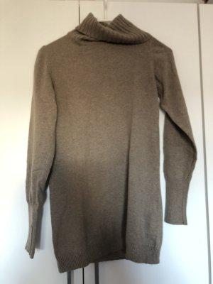 Beiger Pullover aus Merinowolle