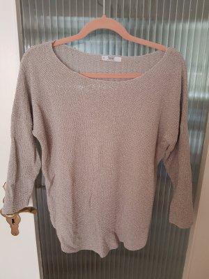 Beiger Pullover mit goldfäden ♡♡♡ von Mango