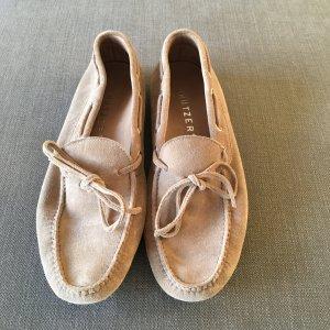 beiger Wildleder Loafer von Unützer