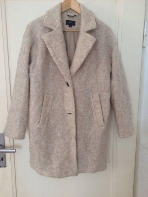 Beiger (Wolle-)Mantel von Comma