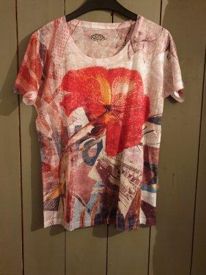 beigerotes T-Shirt von Malvin