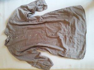 Beiges Blusenkleid/Tunika von ZARA Basic, Gr. S