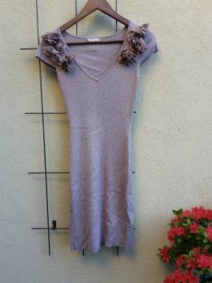 Beiges Kleid in frinrip von Orsay