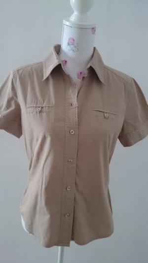 Esprit Camisa de manga corta beige
