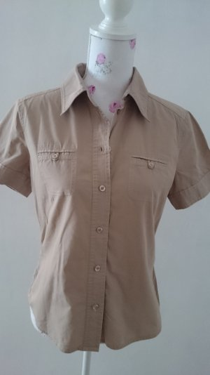 Esprit Short Sleeve Shirt beige