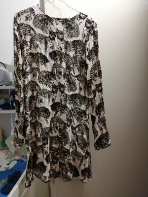 Beiges Leopardenkleid 38