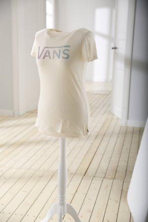Beiges T-Shirt von Vans