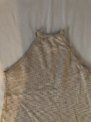 H&M Knitted Top beige