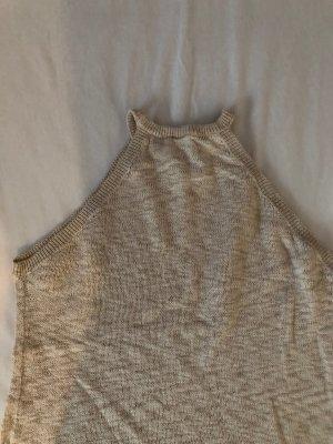 H&M Top lavorato a maglia beige