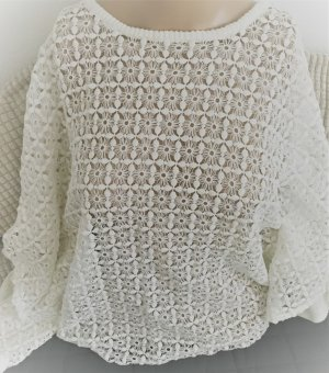Only Crochet Shirt multicolored cotton