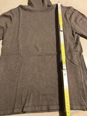 Beim Einkauf über 30 € bei mir * gibt´s einen Artikel unter 10 € gratis dazu * kuscheliger Baumwolle Pullover * Rollkragenpullover Rolli Gr. M 38 - 40 * braun beige hellbraun
