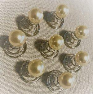 Beim Einkauf über 30 € bei mir * gibt´s einen Artikel unter 10 € gratis dazu * NEU Haarschmuck Haarperlen Perlen Haar Spiralen * Fee Elfe Elbe Schmuck * schick auch für Hochzeit Festlichkeiten etc.