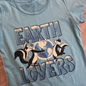 Bejeweled Outpost T-Shirt mit echten Swarovski ❤️ S