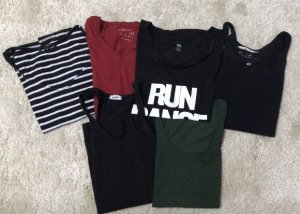 Bekleidungspaket Damen Größe XS/S/M Oberteile T-Shirts Tops